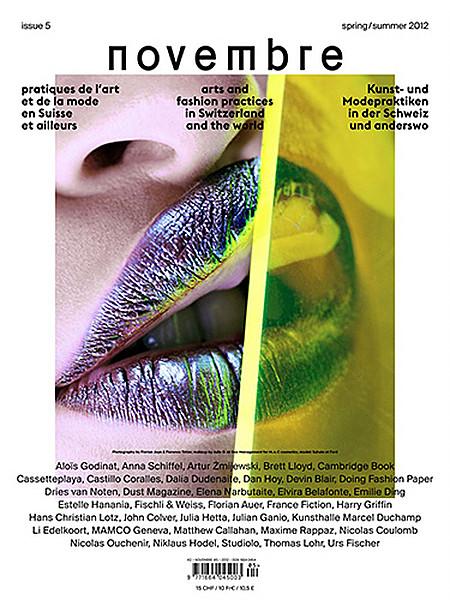 Novembre Magazine Par Florian Joye