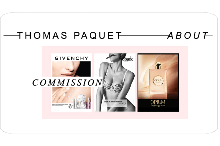 Site Nicolas Paquet